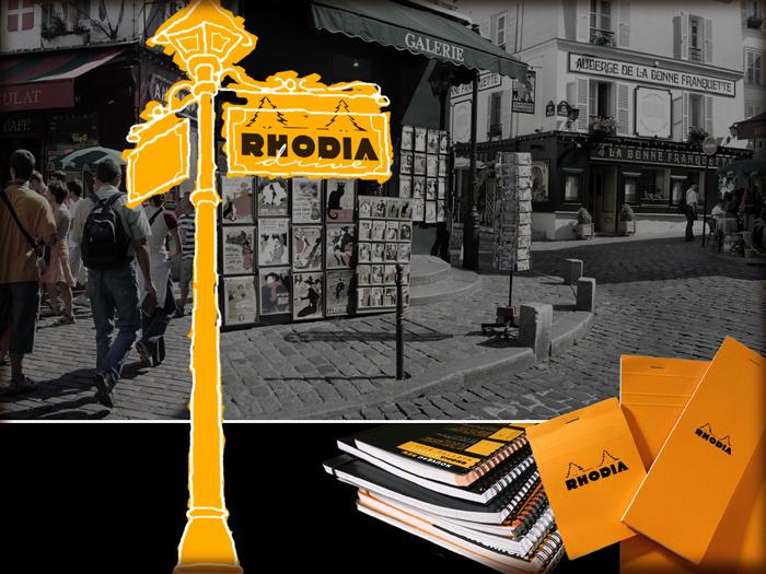 Rhodia – 80 години оранжево и черно