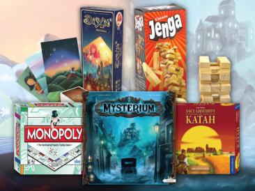 Най-продаваните настолни игри за 2015 година