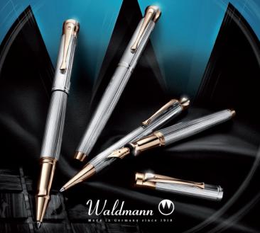 Waldmann – пишещи средства с изискан дизайн