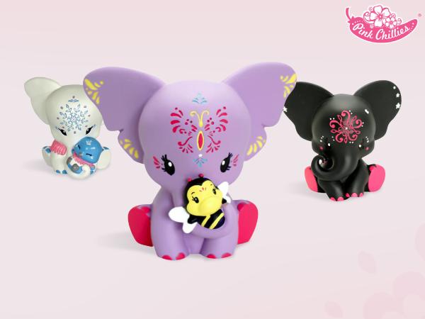 Pink Chillies – слончета с мисия