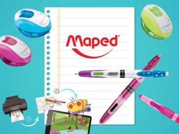 Подготвени като истински отличници с Maped