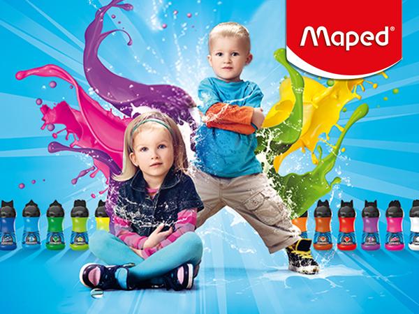 Забавления с цвят от Maped