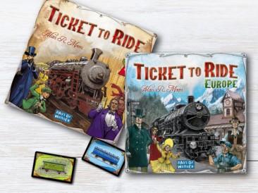 Най-добрата настолна игра? Опитай Ticket to ride!