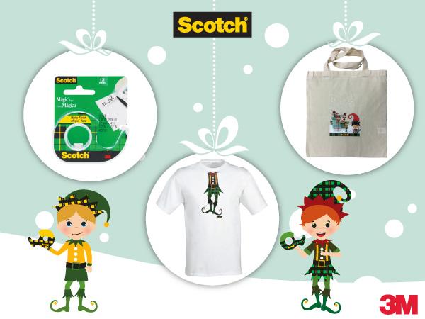 Подаръци от чаровните елфи на Scotch®