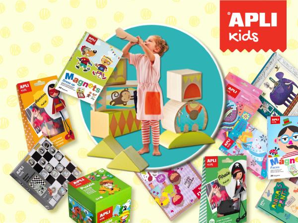 Пъстроцветни забавления с APLI Kids